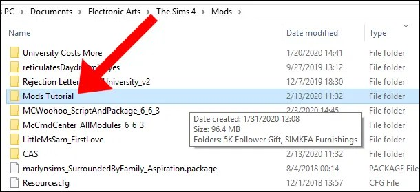 The Sims 4 Mods Tutorial Удаление модов