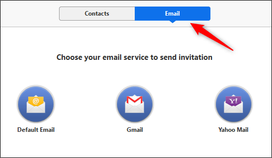 Tab Email