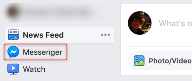Old FB Interface Messenger