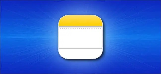 Apple iPhone Notes app icon