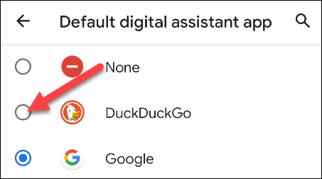 pick your search engine