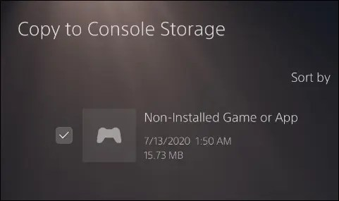copy saves from usb drive to ps5