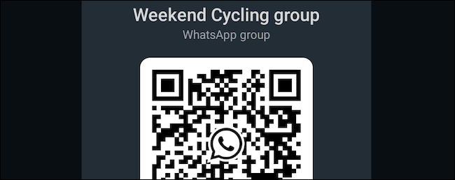 Generate WhatsApp group QR code