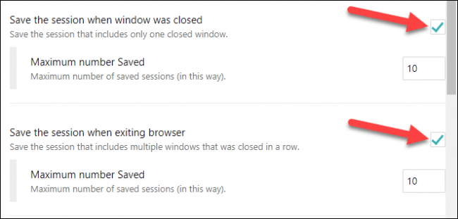 sync when windows close and browser exits