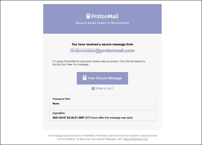 ProtonMail Messaged Encrypted for All Email Accounts