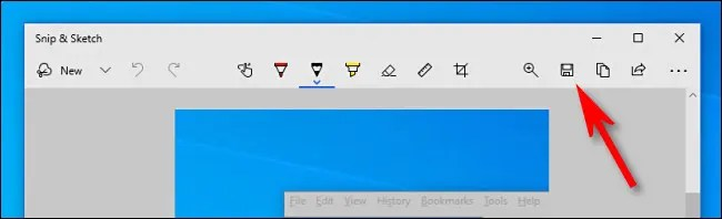 """Click the """"Save"""" icon, which looks like a floppy disk."""