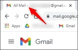 """The mssing """"unread emails"""" number when not in the Inbox."""