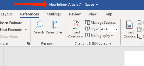Click the file name in the top bar