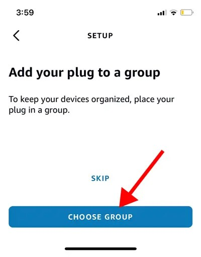 Add smart device to group