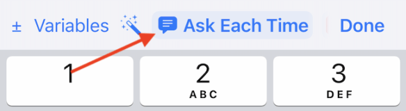 """Switch to """"Ask Each Time"""" to change the width option."""