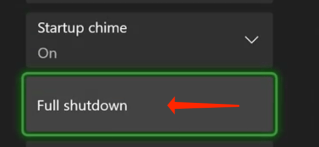 """To shut down your Xbox Series X