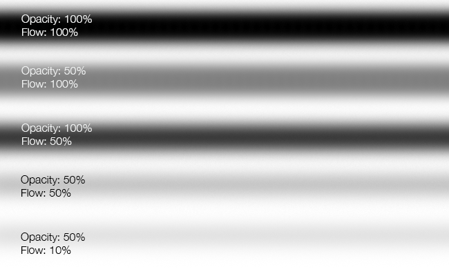 opacity and flow second example