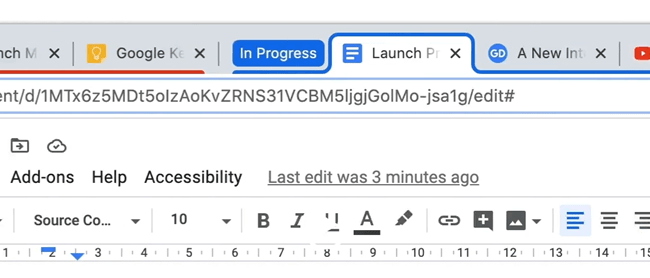 Tab Groups in Chrome