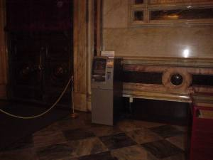 The holy ATM of St. Isaac's Cathedral