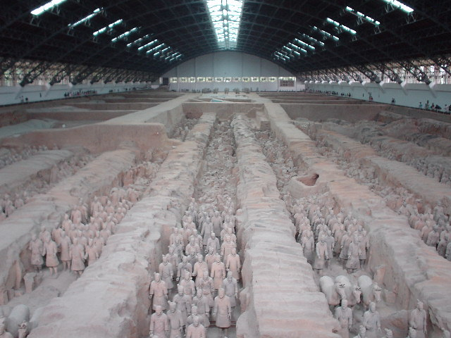 Pit #1 of the Terra Cotta Warriors