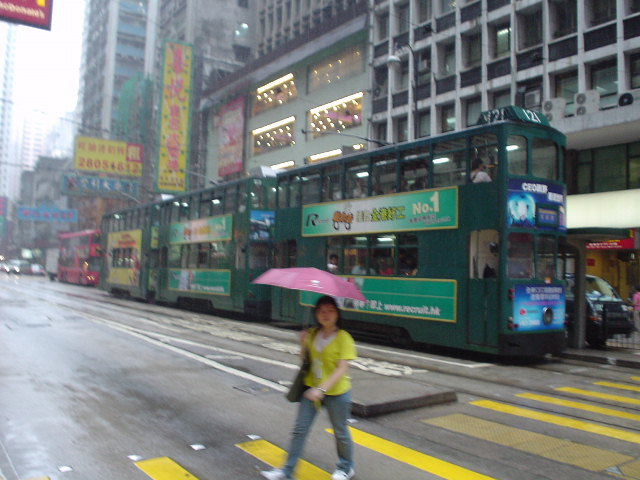 Hong Kong trolleys