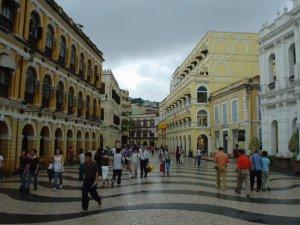 Main square in Macau