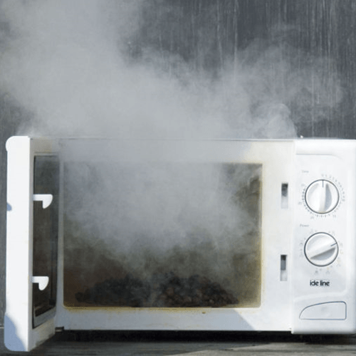 how to get rid of microwave odors how