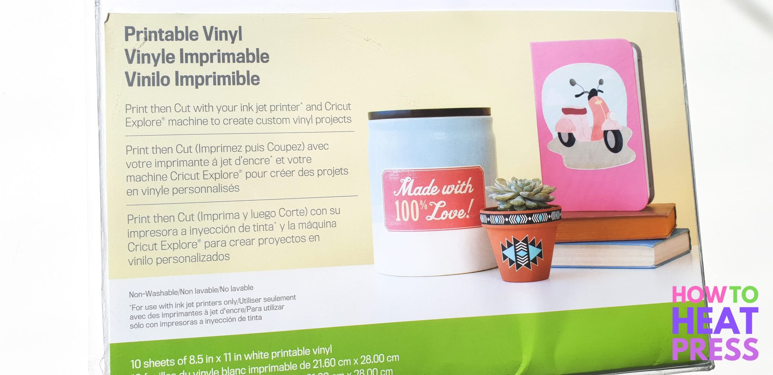 photo regarding How to Use Printable Vinyl titled Cricut Printable Sticker Paper Atmosphere - Upon Log Wall