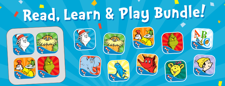 Dr. Seuss Reading Apps Review