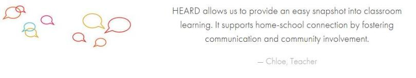 HEARD review - Homeschool Support Group Communication