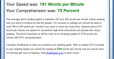 AceReader Family Edition Product Review - Speed Reading and