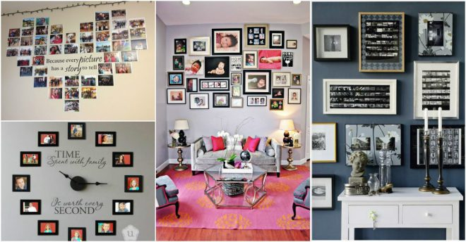 25 Creative Ways To Display Family Pictures How To