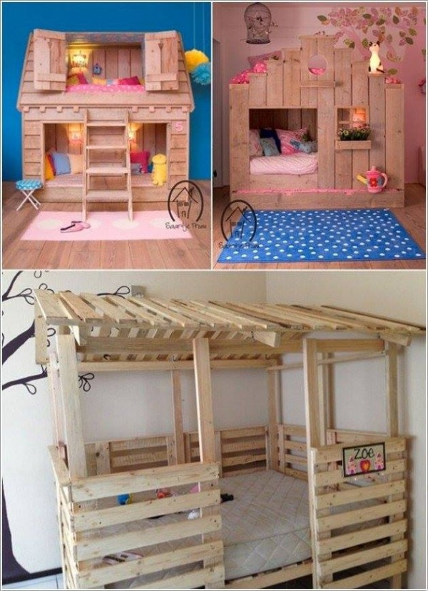 Coolest DIY Kids Pallet Furniture Ideas How To Instructions