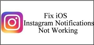 [Solved] iOS 12 Instagram Notifications not working on iPhone X/8Plus/7Plus/6S/6Plus/SE
