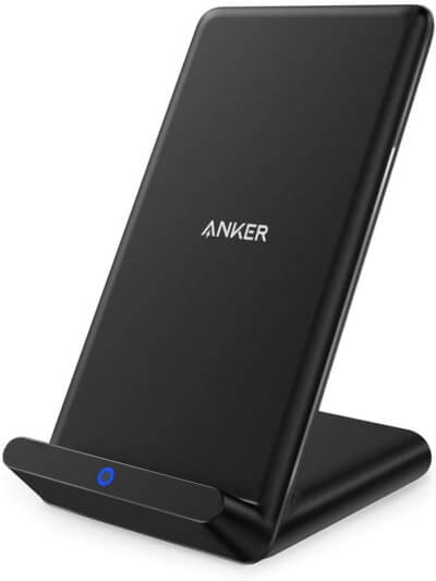 Беспроводное зарядное устройство Anker, PowerPort Wireless 5 Stand, Qi-Certified