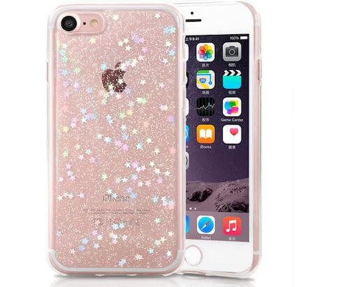 Роскошный защитный чехол для iPhone SE 2020 Clear для девочек