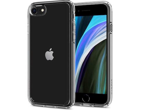 Spigen iPhone SE 2 (2020) прозрачный чехол