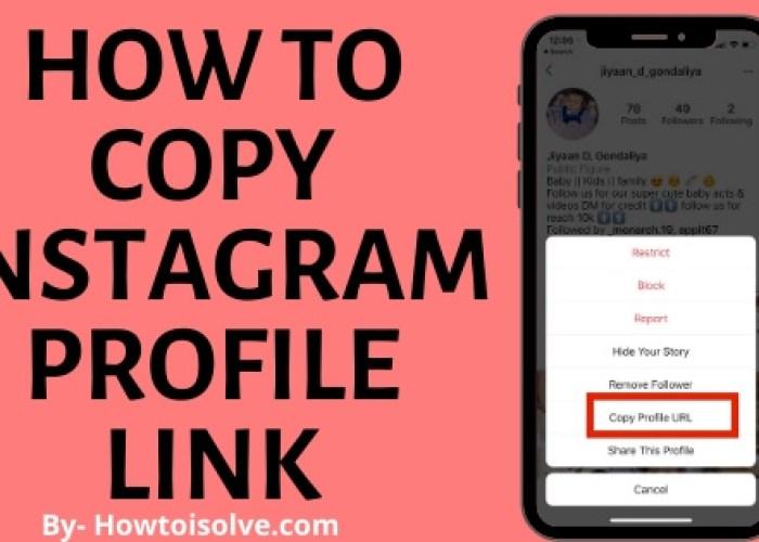 Как скопировать Instagram Профиль Ссылка iPhone