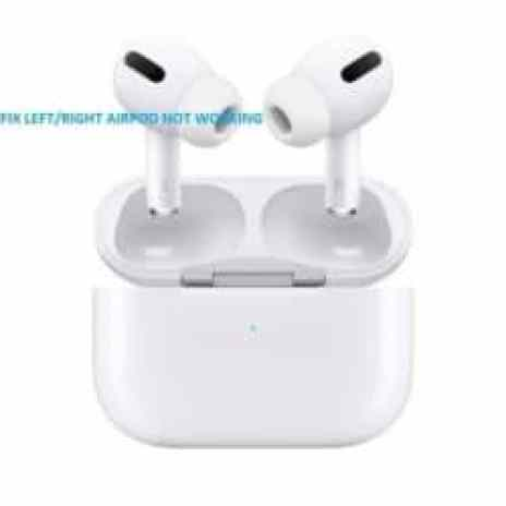 Airpod not working
