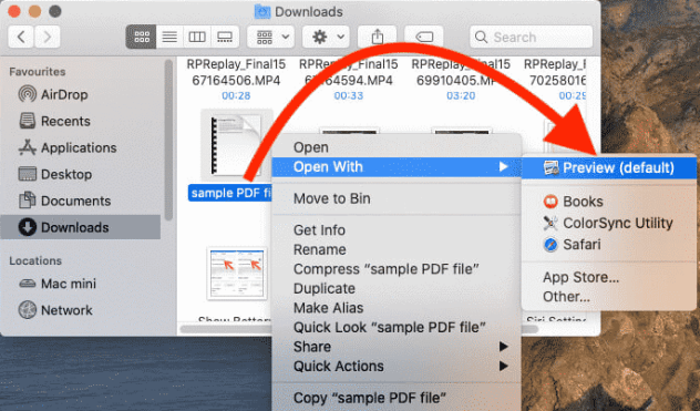 Add signature in PDF preview on Mac using your iPhone camera