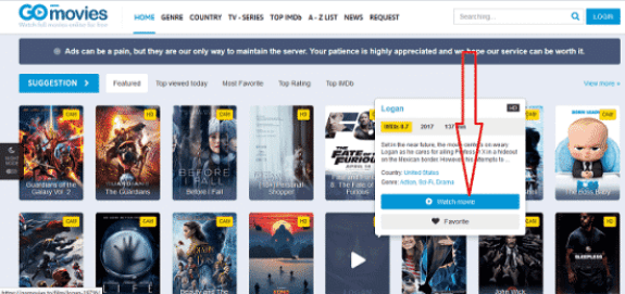 How to Download Free Movies from Gomovies.to