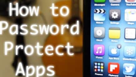 How To Set Password For Iphone To Protect Apps And Folders
