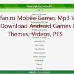 Sefan.ru Mobile Games Mp3 Video | Download Android Games like Themes, Videos, PES