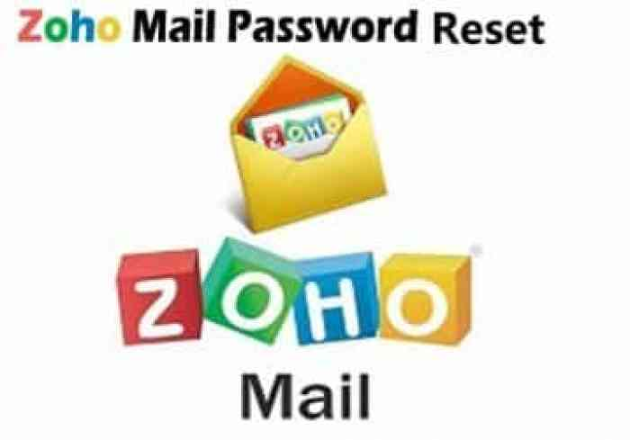 Zoho Mail Password Reset - 100% How To Recover Zoho Mail Password