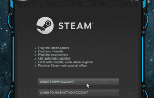 How To Create A Steam Account For Free