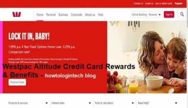 Westpac Altitude Credit Card Rewards & Benefits