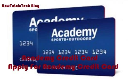 Academy Credit Card | Apply For Academy Credit Card