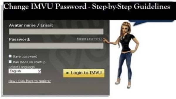 Change IMVU Password - Step-by-Step Guidelines