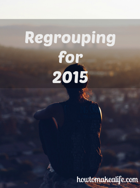 Regrouping before 2015