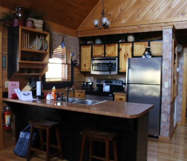 Cabin 36 kitchen