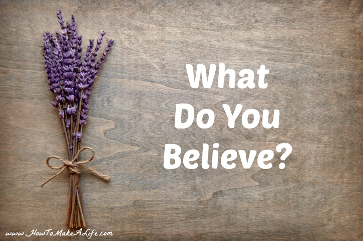 What Do You Believe? Following Oprah's challenge of stating belief in 3 words