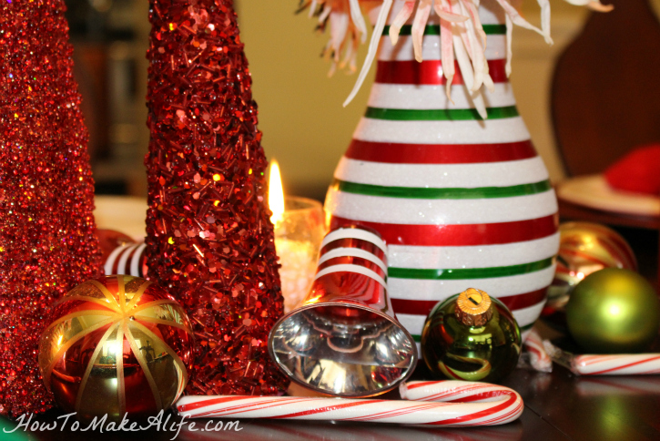 Ornament Tablescape