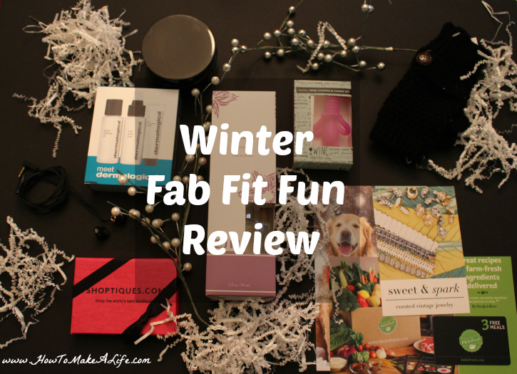 Review of the Winter 2015 Fab Fit Fun Box