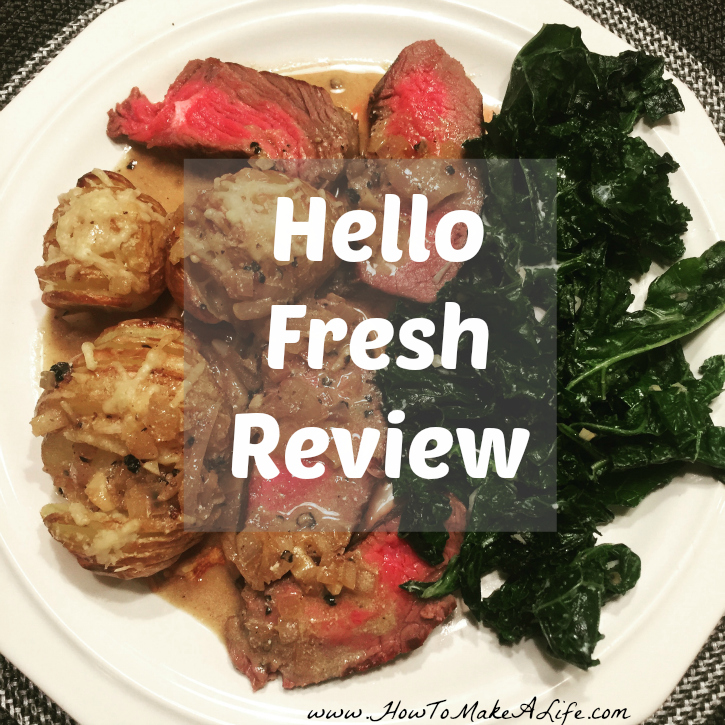 Review of Hello Fresh subscription service