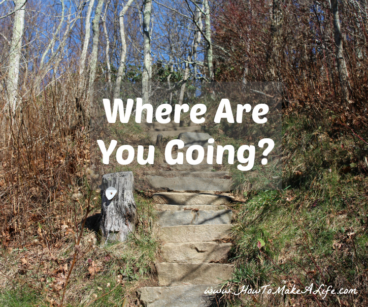 Where Are You Going? We can't set goals in life without knowing where we want to be?